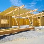 Ossature bois maison dubois
