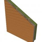 Ossature bardge horizontal